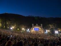 LOS ANGELES - 29 DE AGOSTO: O anfiteatro da bacia de Hollywood Fotos de Stock