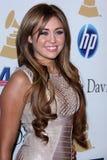 Miley Cyrus Foto de Stock