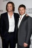 Jared Padalecki, Jensen Ackles Imagem de Stock