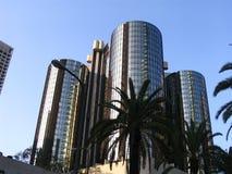 Los Angeles de stad in Royalty-vrije Stock Afbeeldingen