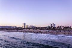 Los Angeles, de V.S. - 28 Maart, 2017: Het Strand van Venetië, Los Angeles, Californië Stock Afbeeldingen