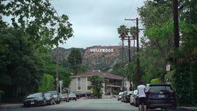 LOS ANGELES, DE V.S. - 9 MEI, 2019: Hollywoodteken stock footage