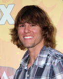 Hayden Moss arrives at the 2010 American Country Awards Stock Photography