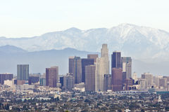 Los Angeles del centro Immagine Stock