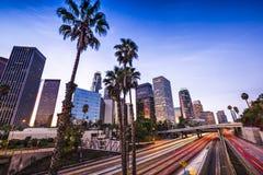 Los Angeles do centro fotografia de stock