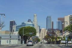 A Los Angeles do centro Fotos de Stock Royalty Free