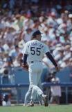 Orel Hershiser. Los Angeles Dodgers pitcher Orel Hershiser.  Image taken from color slide Royalty Free Stock Photography