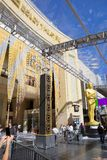 Los Angeles, Dolby theater. Preparing for the ceremony of awarding the Oscars 2016. The Los Angeles theater, which opened on November 9, 2001 and has since stock images