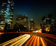 Los Angeles Down Town Stock Photography