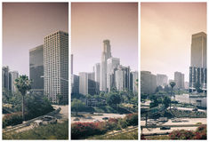 Los Angeles Down Town City Stock Image