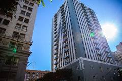 Los angeles Downtown. Los angeles California downtown buildings Royalty Free Stock Photos