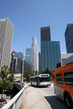 Los Angeles Downtown Mass Transit Stock Images