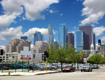 Los Angeles Downtown Royalty Free Stock Photography