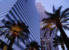 Los Angeles - Downtown Office Buildings Stock Photos
