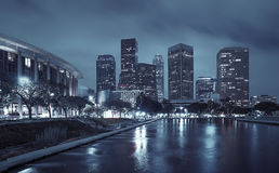Los Angeles Downtown. Office buildings Stock Image
