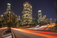 Los Angeles downtown skyline Stock Photos
