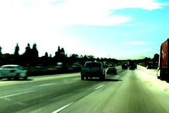 Los Angeles Driving stock video