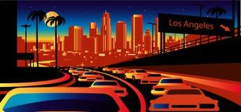 Los Angeles du centre #41 illustration de vecteur