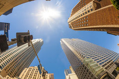 Los Angeles du centre images stock