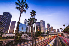 Los Angeles du centre Photographie stock
