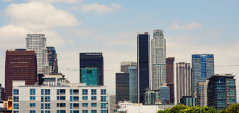 Los Angeles du centre Photographie stock libre de droits