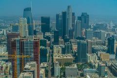 Los Angeles du centre est le district des affaires central photographie stock libre de droits
