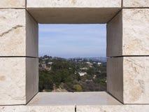 Los Angeles durch ein Loch Lizenzfreies Stockbild