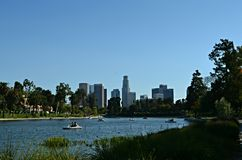 Los Angeles Echo Park Photos libres de droits