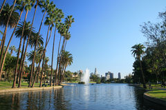 Los Angeles- Echo Park Royalty Free Stock Photography