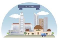 Los Angeles, Etats-Unis illustration stock