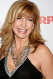 Leeza Gibbons. LOS ANGELES - FEB 7:  Leeza Gibbons arrives at the 2011 AARP 'Movies for Grownups' Gala  at Regent Beverly Wilshire Hotel on February 7, 2011 in Stock Image