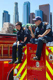 Los Angeles Fire Department stock photos