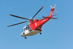 Los Angeles Fire Department helicopter Stock Images