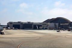 Los Angeles flygplatsterminal arkivbild