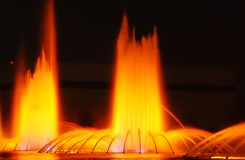 Los Angeles Fountains  Stock Image