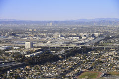 Los Angeles Freeways Royalty Free Stock Images