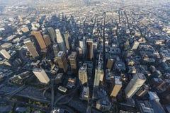 Los Angeles Góruje Popołudniową antenę Zdjęcie Royalty Free