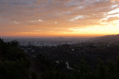 Los Angeles from the Griffith Observatory Stock Photos