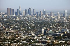 Los Angeles From Griffith Park 2 Royalty Free Stock Image