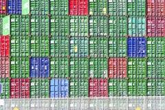 Los Angeles-Hafen-Werft-Behälter Lizenzfreie Stockbilder