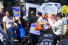 Los Angeles Health Care Rally Stock Photography
