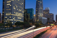 Los Angeles highway Royalty Free Stock Photo