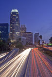 Los Angeles highway Royalty Free Stock Image