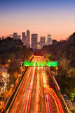Los Angeles Highway Stock Photography