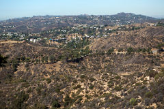 Los Angeles hills Stock Photography