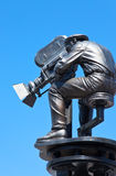 Los Angeles. Hollywood, filmmaker statue in the Universal Studios Stock Photo
