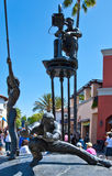 Los Angeles. Hollywood, filmmaker statue in the Universal Studios Royalty Free Stock Photo
