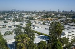 Los Angeles, Hollywood sprawl Stock Photo