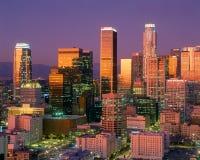 Los Angeles horisont Arkivbild