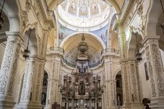 Los Angeles Iglesia De San Agustin o San Fransisco el Nuevo Hawański, Kuba Obrazy Royalty Free